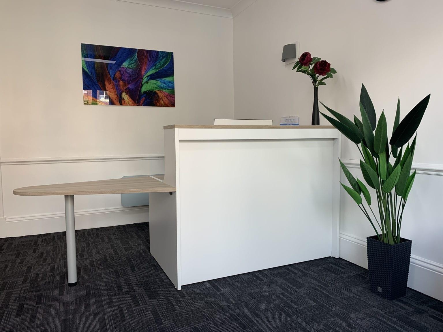 managed reception